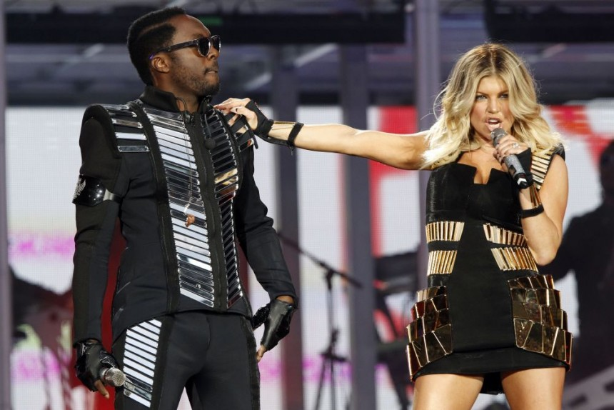 Fergie slips into some racy stockings and underwear and talks pregnancy