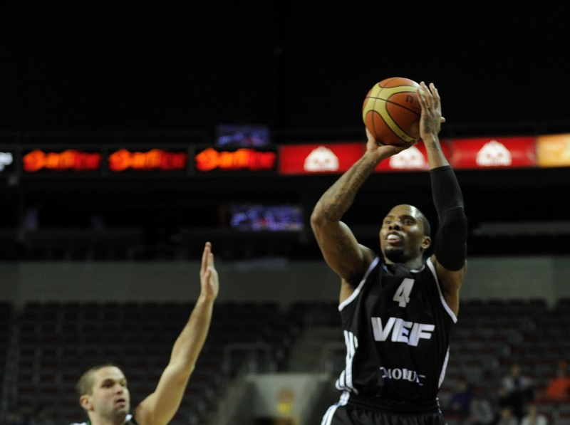 "VEF šokē ""Bilbao Basket"" - Basketbols - nra.lv"