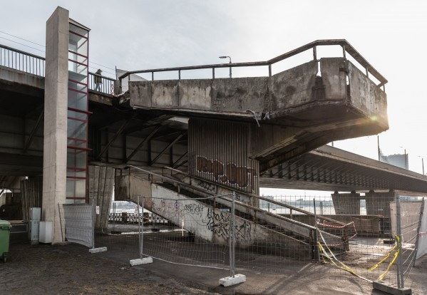 The Riga City Councilu0027s Traffic Department Will Carry Out A Complete  Rebuilding Of The Burgeoning Vantage Bridge Staircase, Which Could Cost  Around 100,000 ...